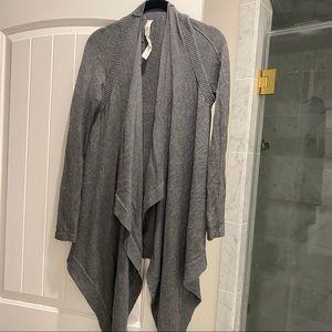 Lululemon Dark Grey Cardigan Wrap Size 4